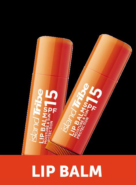 Lip Balm Product Range Top Image